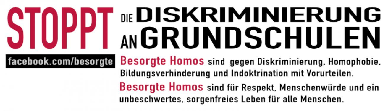 Besorgte Homos